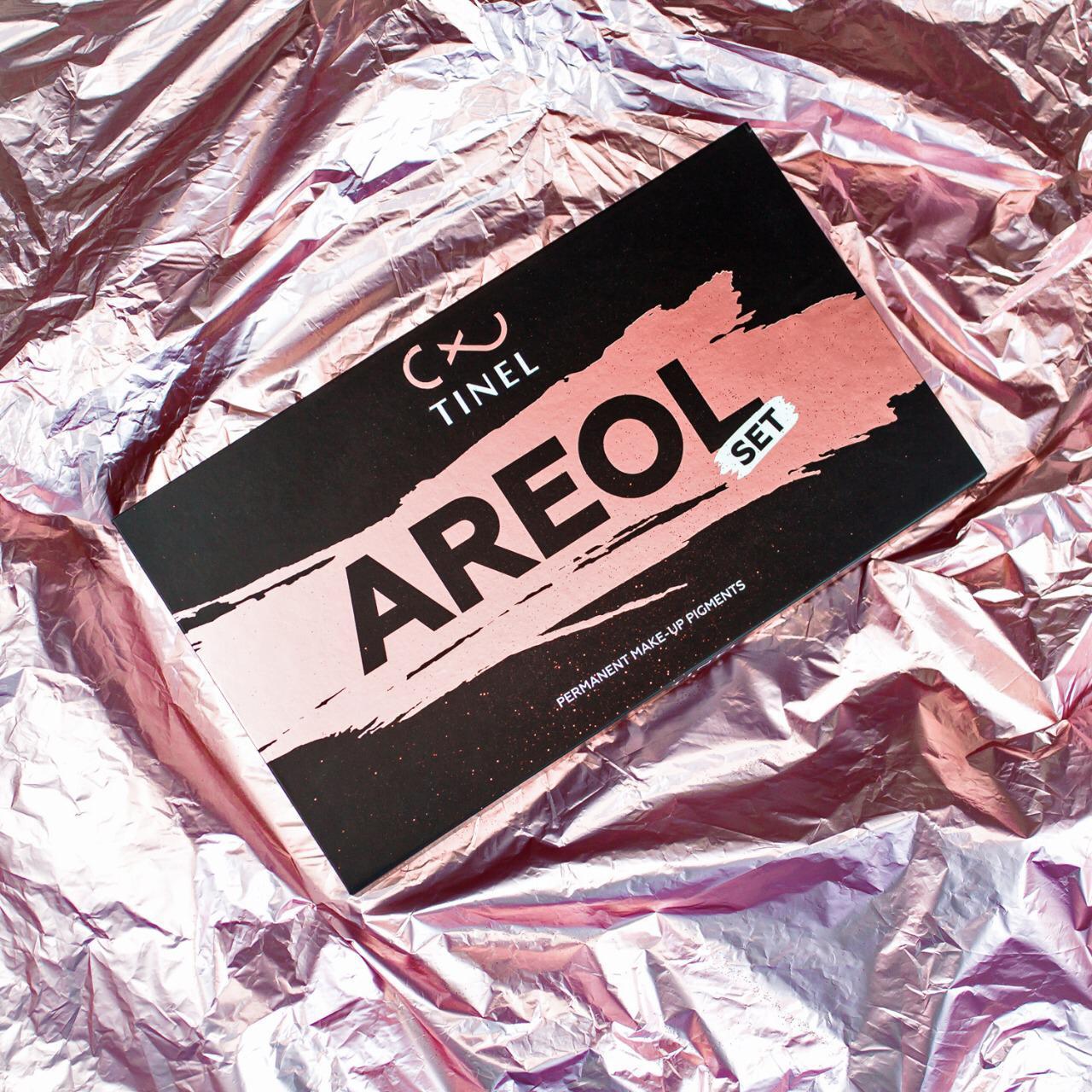 Сет пигментов для ареол от компании Tinel