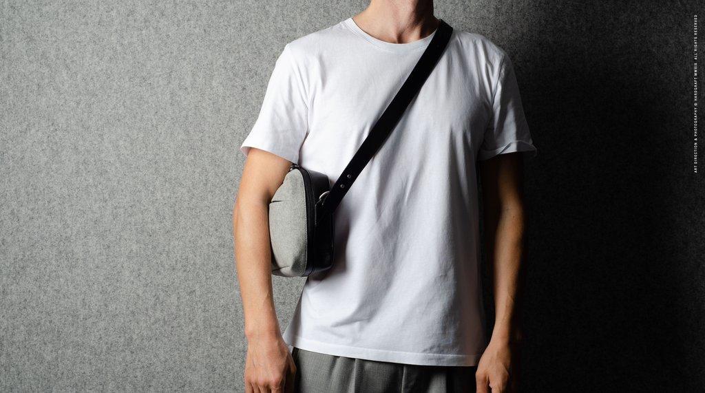 Hard Graft Наплечная сумка All-Rounder: алькантара
