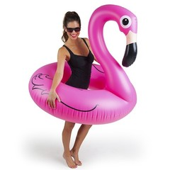 Надувной круг «Розовый фламинго» 120 см