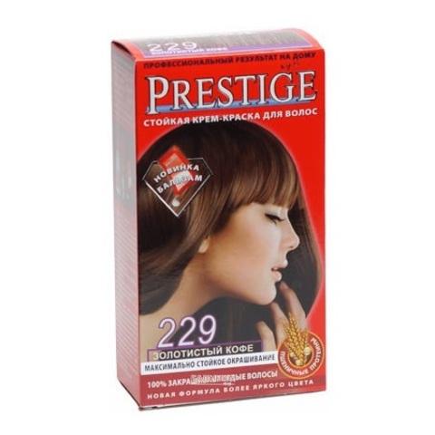Краска для волос Prestige 229 - Золотистый кофе, 50/50 мл.