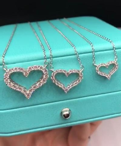 Кулон Tiffany Сердце