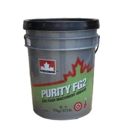 PETRO-CANADA PURITY FG 2 (17кг) смазка пищевая белого цвета высокотемпературная -20С до 160C