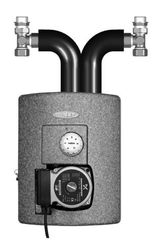Насосная группа Meibes Thermix ME 27409.2 c насосом UPS 15-50 МВР с встроенным термостатом