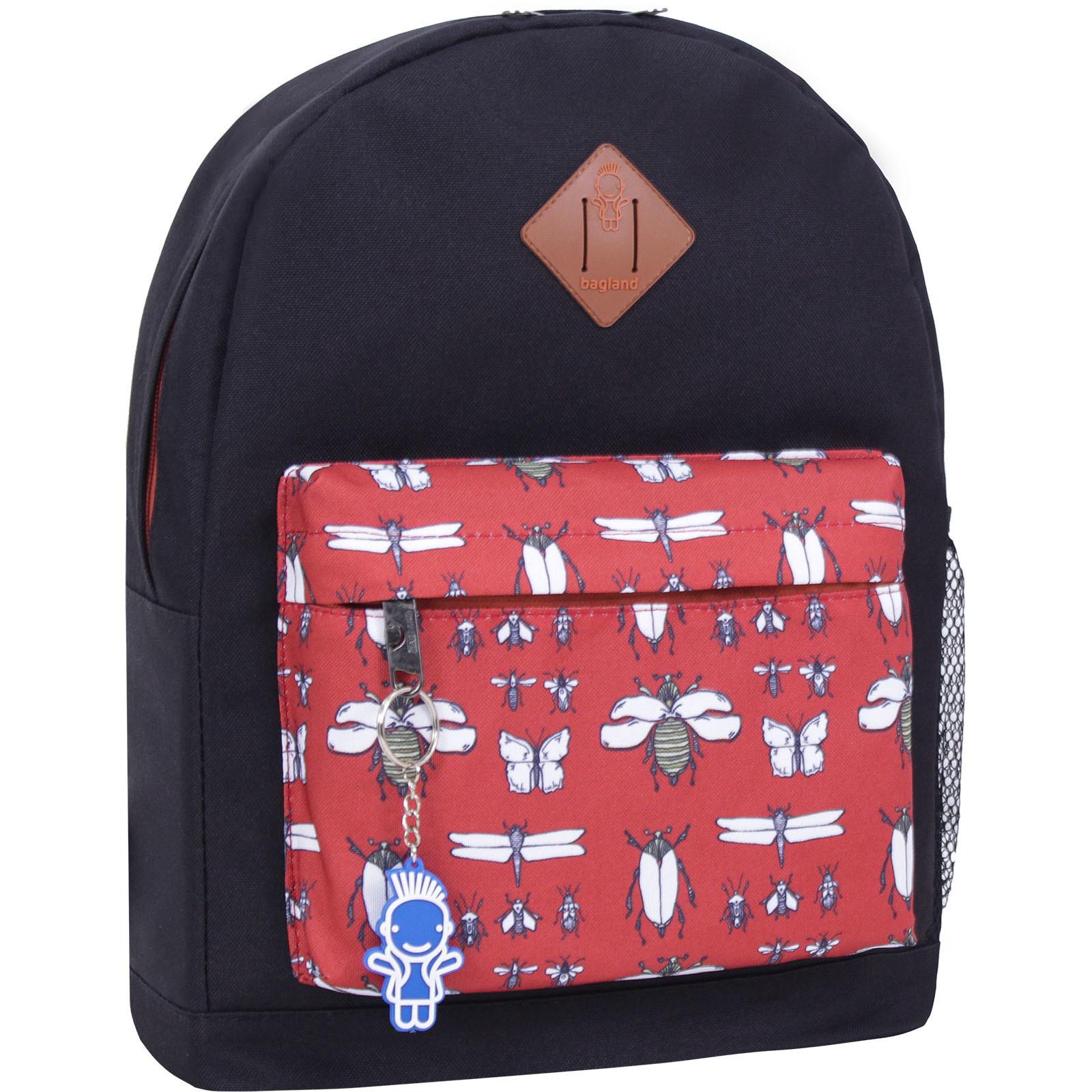 Городские рюкзаки Рюкзак Bagland Молодежный W/R 17 л. черный 448 (00533662) IMG_2505_448_-1600.jpg