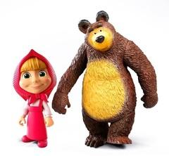 Девочка и Медведь набор фигурок