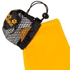 Полотенце быстросохнущее Jack Wolfskin Wolftowel Light L burly yellow - 2