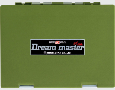 Коробка под блесна RING STAR DREAM MASTER AREA DMA-1500SS OLIVE