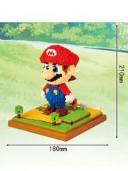 Конструктор Wisehawk & LNO Супер Марио 1701 деталь NO. 160 Super Mario big Gift Series