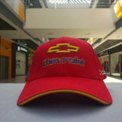 Бейсболка Шевроле красная (Кепка Chevrolet)