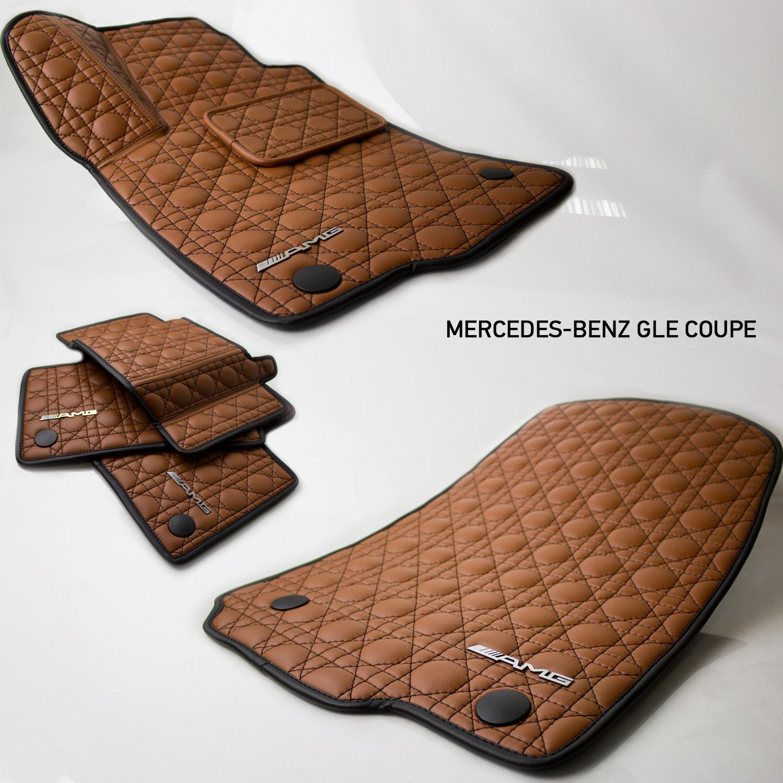 Коврики из эко-кожи Vestis для Mercedes