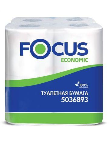 Туалетная бумага Focus ECONOMIC CHOICE  2сл, 8рул/уп 1/6