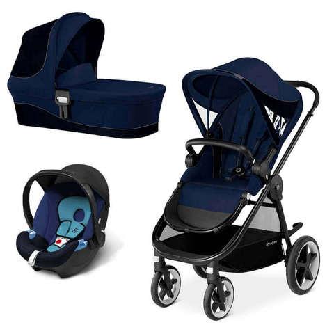 Детская коляска Cybex Balios M 3 в 1 Denim Blue