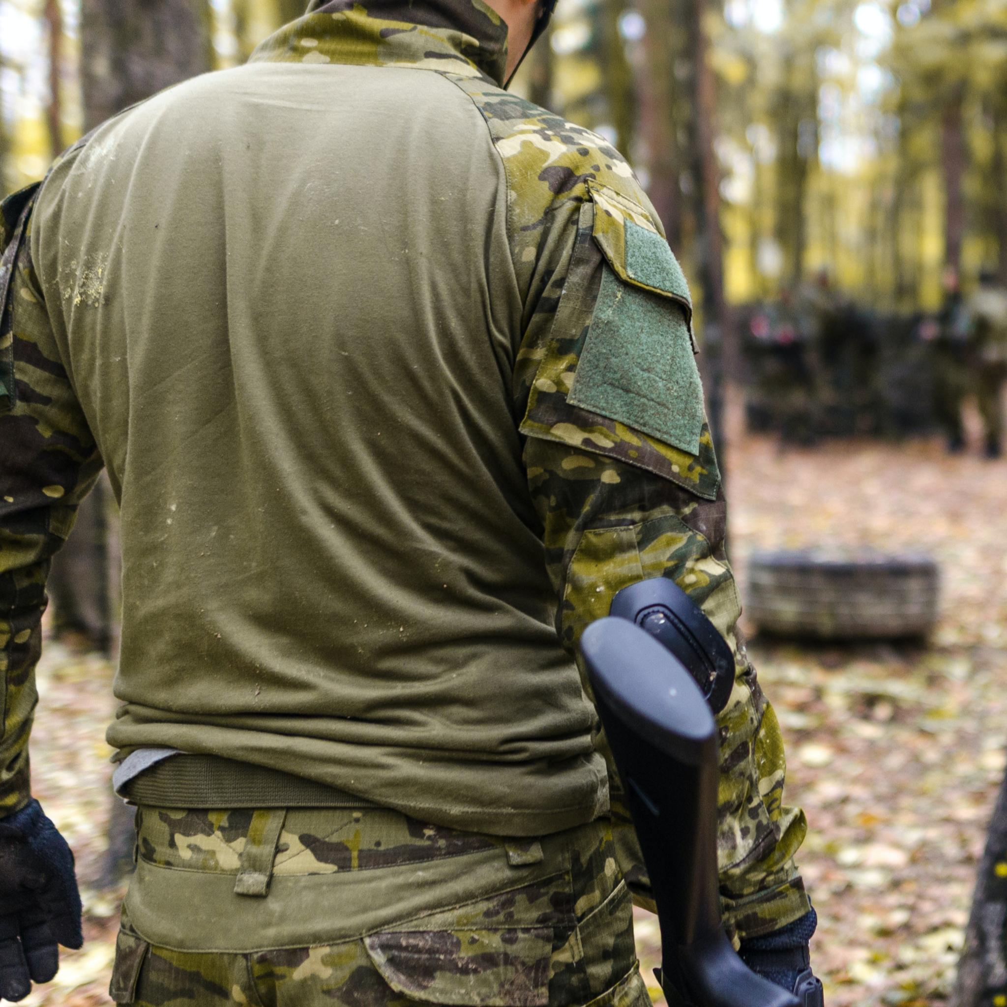 Военная одежда для мужчин