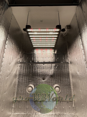 В220хД120хШ60 ГроуБокс PHILIPS 200W LED SUPERSILENT + ТЕХ ОТСЕК