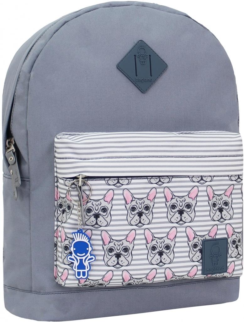 Городские рюкзаки Рюкзак Bagland Молодежный W/R 17 л. 316 сірий 142 (00533662) fa1e9c965314ccd7810fb5ea838303e5.JPG