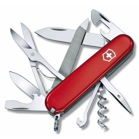 Нож перочинный Victorinox Mountaineer (1.3743) 91мм 18функций красный