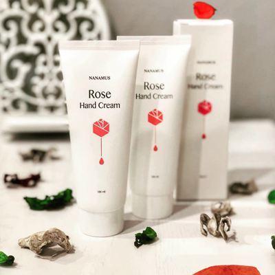 Крем для рук с экстрактом розы Nanamus Rose Hand Cream