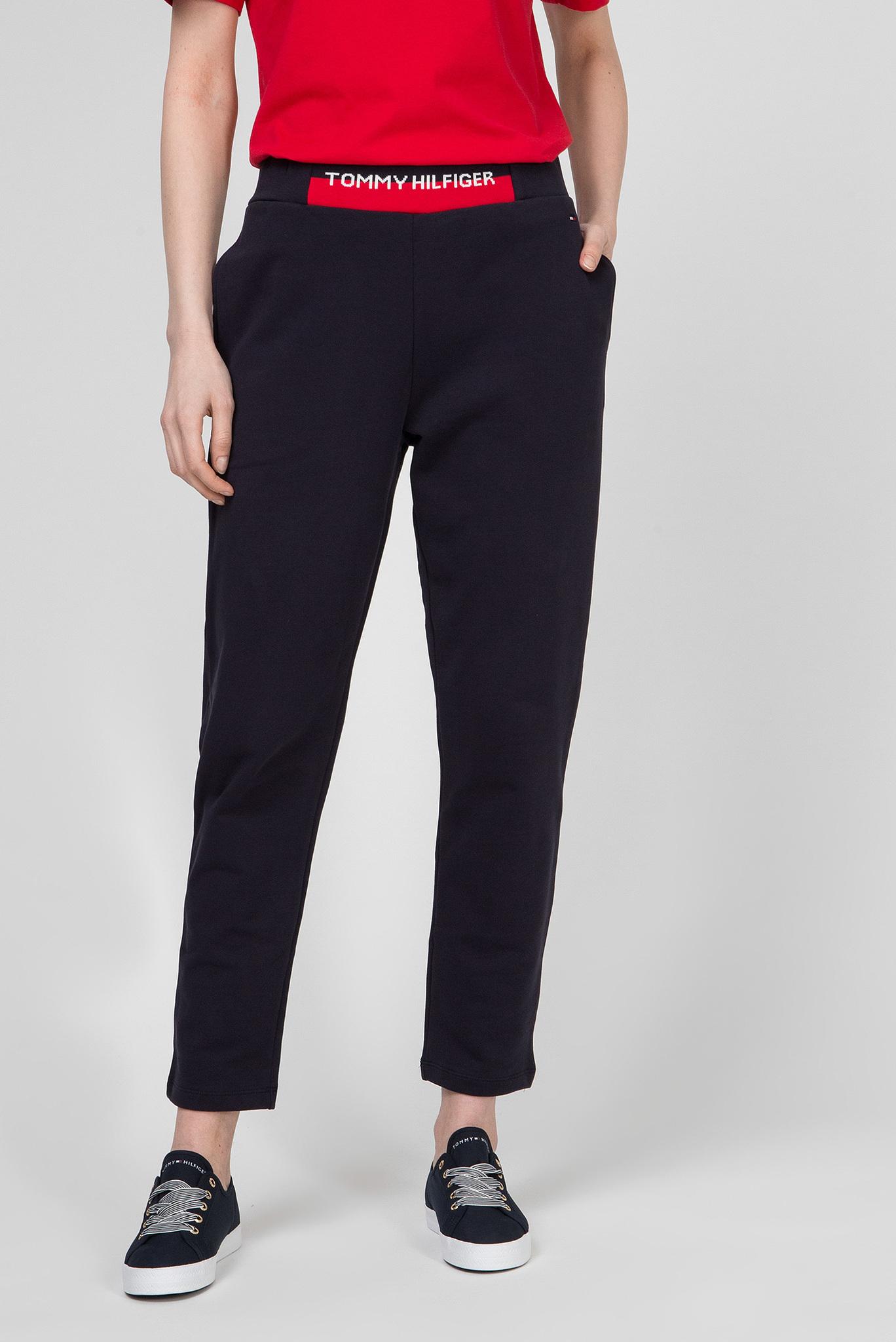 Женские темно-синие спортивные брюки KHLOE Tommy Hilfiger