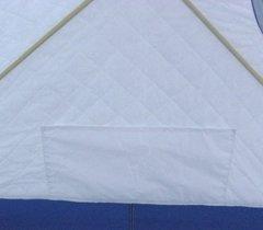 Зимняя палатка куб Следопыт Эконом 1,95*1,95 м PF-TW-08 трехслойная