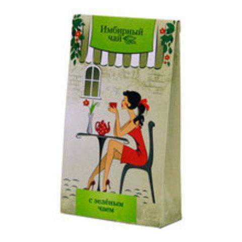 Чай имбирный, Фитоком Алтай, Зелёный чай, ф/п, 1,5 г, 20 шт