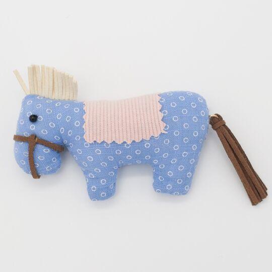 Зайка Ми с голубой лошадкой