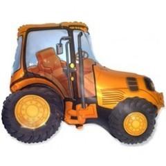 F Трактор (оранжевый), 38''/97 см, 1 шт.