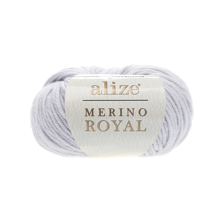 Alize Merino Royal светло-серый 362
