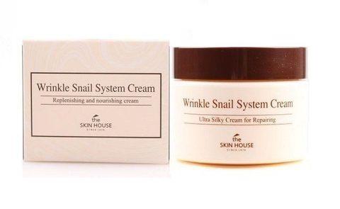 Улиточный крем антивозрастной, 50 ml, The Skin House Wrinkle Snail System Cream
