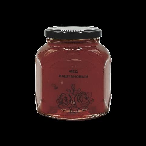 Мёд натуральный КАШТАНОВЫЙ, 500 гр
