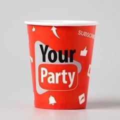 Стаканы бумажные, Your party, 250 мл, 10 шт, 1 уп.