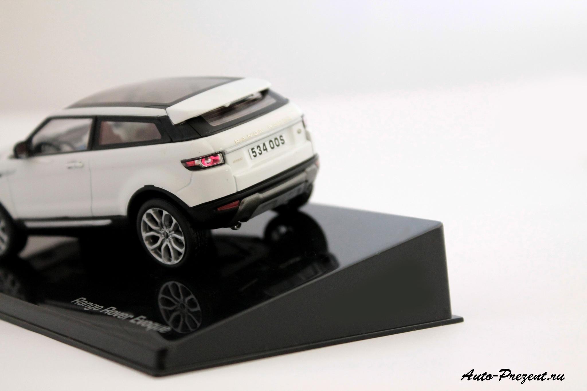 Коллекционная модель Range Rover Evoque