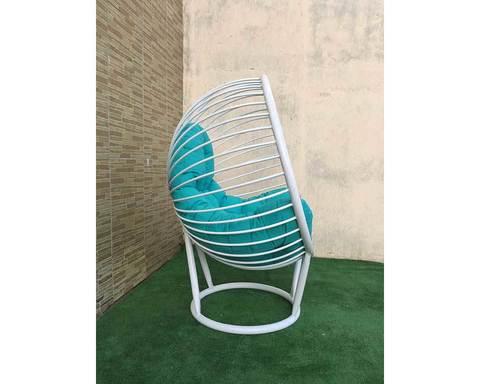 Кресло лофт Малибу белое