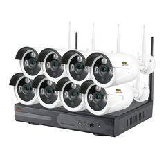 Комплект беспроводного видеонаблюдения Partizan  на 8 камеры 2Мп Outdoor Wireless Kit 2MP 8xIP v1.0 (82076)