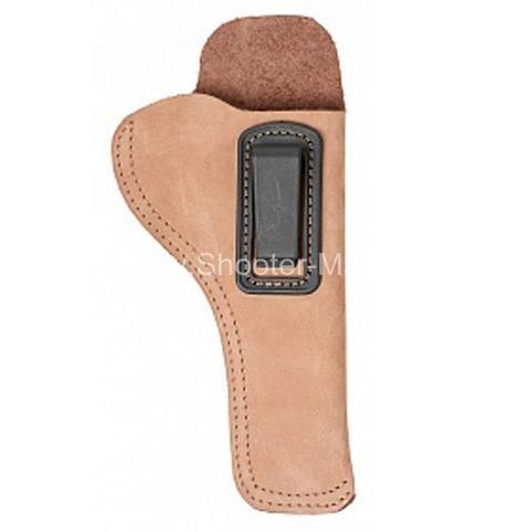 Кобура скрытого ношения для револьвера Гроза Р-06, поясная ( модель № 16 ) Стич Профи