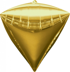 А Алмаз 3D, Металлик, Золото, 17