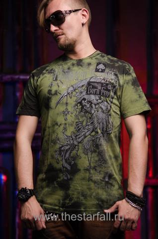 Купить футболку Affliction RANGE