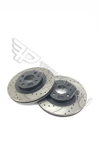 Вентелируемые тормозные диски 14