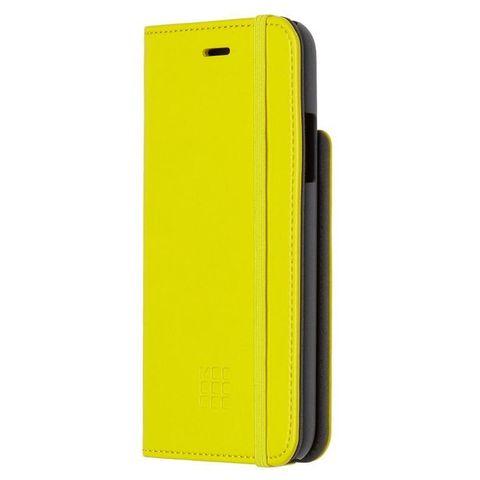 Чехол (флип-кейс) Moleskine для Apple iPhone X IPHXXX желтый (MO2CBPXM18)