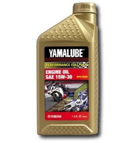 Yamalube 15W-30 Synthetic Race Oil (0,946 л)