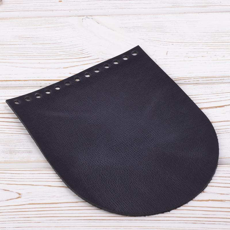 """Вся фурнитура Клапан для сумочки кожаный """"Черный пулап"""" 19,5 см на 15,5 см IMG_7151.jpg"""