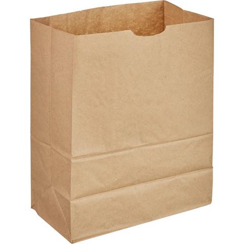Крафт пакет бумажный коричневый 17.9х29х11.8 см (1000 штук в упаковке)