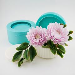 Молд ваза с крышкой/подсвечник