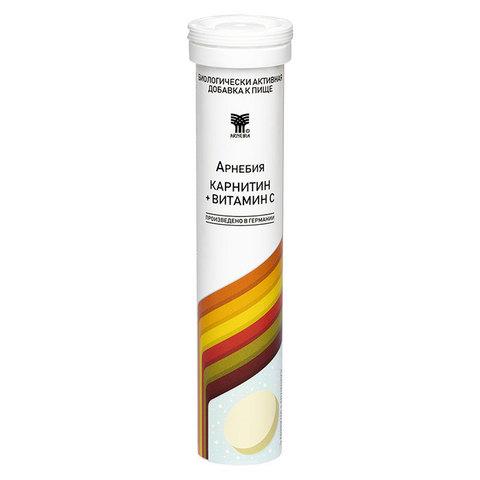 Арнебия Карнитин + Витамин C (20 таблеток)