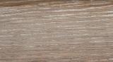 Плинтус шпон Р12 Дуб Серебро DL Profiles-Италия (75 мм*16 мм*2400 мм)