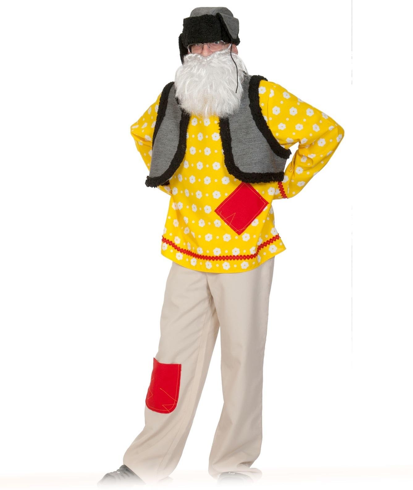 Костюм карнавальный Дед-Домовой взрослый