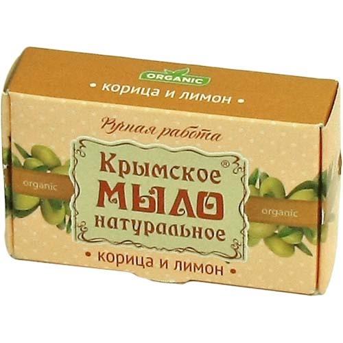Мыло натуральное Корица и лимон