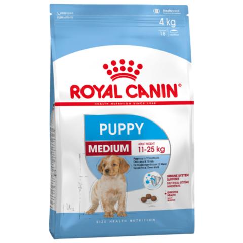 Royal CANIN MEDIUM PUPPY для щенков средних пород (14 кг)