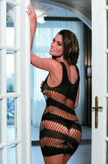 Черное платье эротик C802