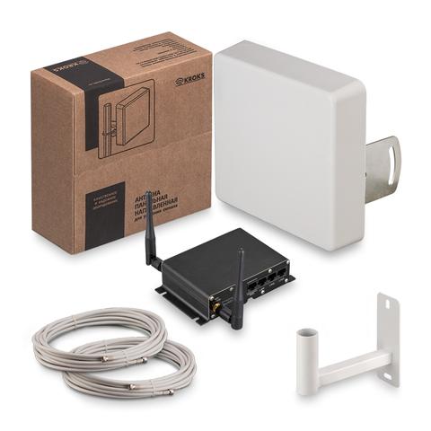 Комплект Kroks 3G/4G интернета KSS15-3G/4G-MR MIMO