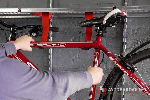 Кронштейн для велосипеда под металлическую полку IF